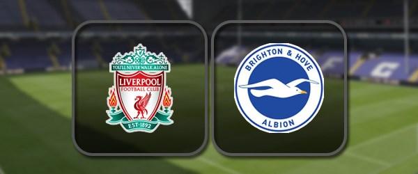 Ливерпуль - Брайтон онлайн трансляция