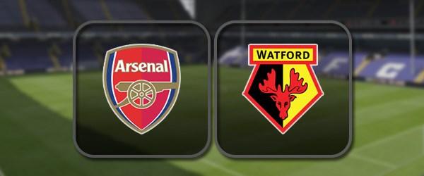 Арсенал - Уотфорд: Полный матч и Лучшие моменты