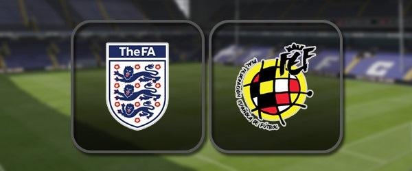 Англия - Испания: Полный матч и Лучшие моменты