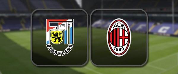 Дюделанж - Милан: Полный матч и Лучшие моменты