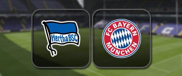 Герта - Бавария: Полный матч и Лучшие моменты