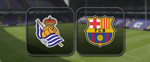 Реал Сосьедад - Барселона онлайн трансляция