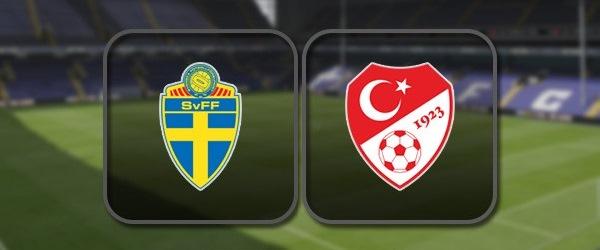 Швеция - Турция: Полный матч и Лучшие моменты