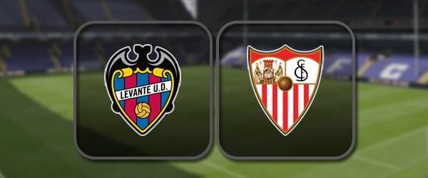Леванте - Севилья: Полный матч и Лучшие моменты