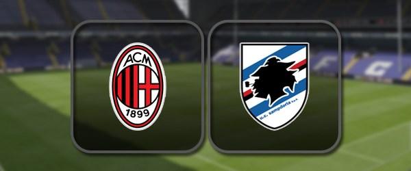 Милан - Сампдория онлайн трансляция