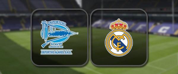 Алавес - Реал Мадрид онлайн трансляция