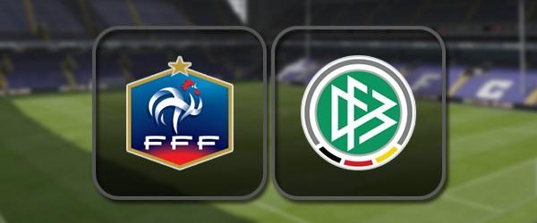 Франция - Германия: Полный матч и Лучшие моменты