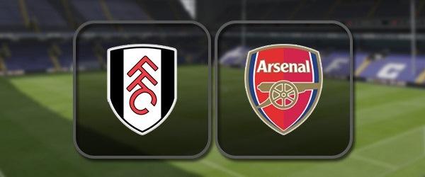 Фулхэм - Арсенал: Полный матч и Лучшие моменты