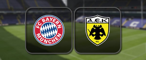 Бавария - АЕК: Полный матч и Лучшие моменты