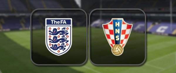 Англия - Хорватия: Полный матч и Лучшие моменты