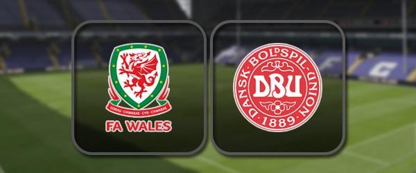 Уэльс - Дания: Полный матч и Лучшие моменты