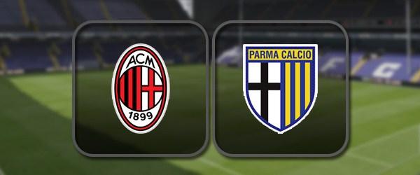 Милан - Парма: Полный матч и Лучшие моменты