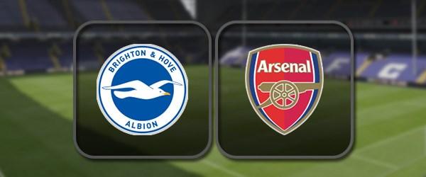 Брайтон - Арсенал: Полный матч и Лучшие моменты