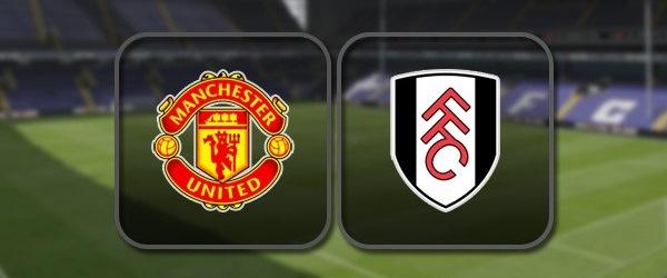 Манчестер Юнайтед - Фулхэм: Полный матч и Лучшие моменты