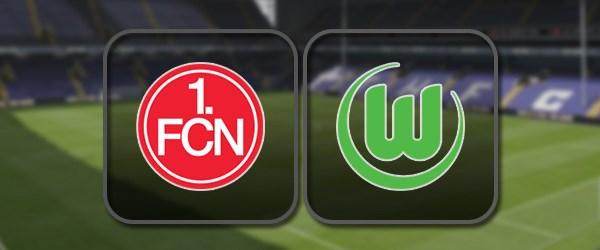 Нюрнберг - Вольфсбург: Полный матч и Лучшие моменты