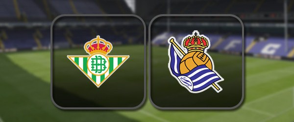 Бетис - Реал Сосьедад онлайн трансляция