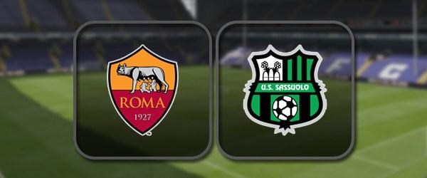Рома - Сассуоло: Полный матч и Лучшие моменты