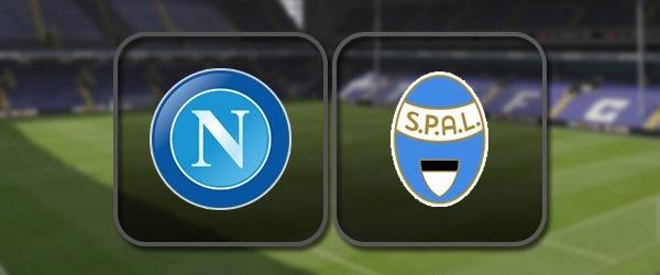 Наполи - СПАЛ: Полный матч и Лучшие моменты