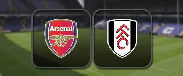 Арсенал - Фулхэм: Полный матч и Лучшие моменты