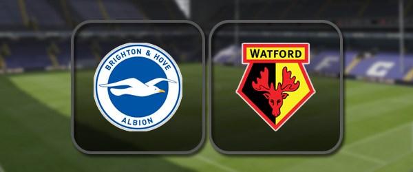 Брайтон – Уотфорд: Полный матч и Лучшие моменты