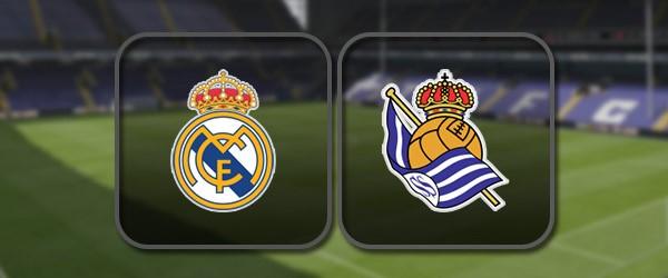 Реал Мадрид - Реал Сосьедад онлайн трансляция