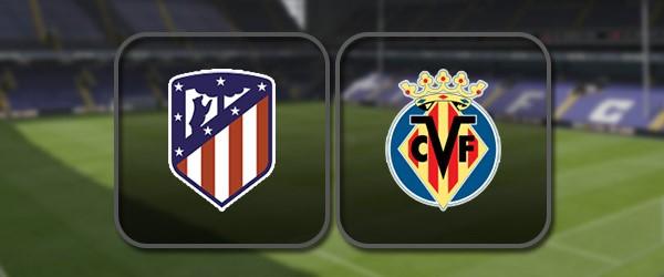 Атлетико - Вильярреал онлайн трансляция