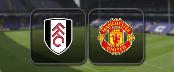 Фулхэм - Манчестер Юнайтед: Полный матч и Лучшие моменты