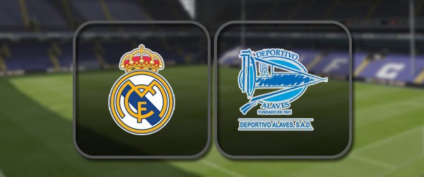 Реал Мадрид - Алавес онлайн трансляция