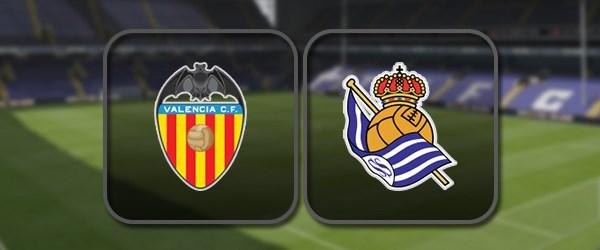 Валенсия - Реал Сосьедад онлайн трансляция