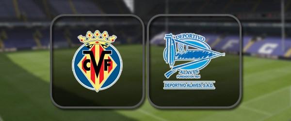 Вильярреал – Алавес: Полный матч и Лучшие моменты