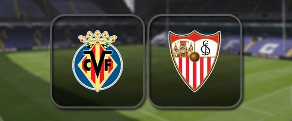 Вильярреал - Севилья: Полный матч и Лучшие моменты