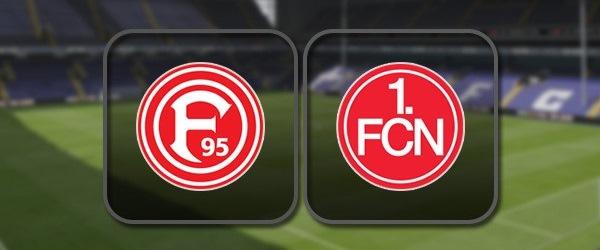 Фортуна - Нюрнберг: Полный матч и Лучшие моменты