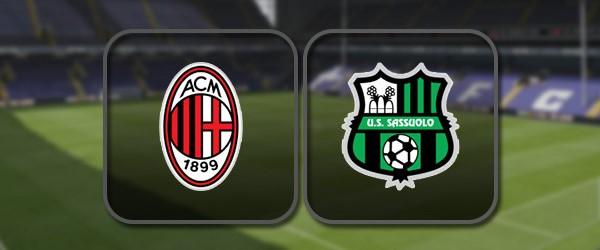 Милан - Сассуоло: Полный матч и Лучшие моменты