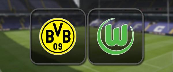 Боруссия Д - Вольфсбург: Полный матч и Лучшие моменты