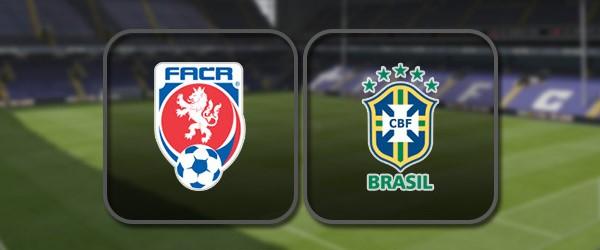 Чехия - Бразилия: Лучшие моменты