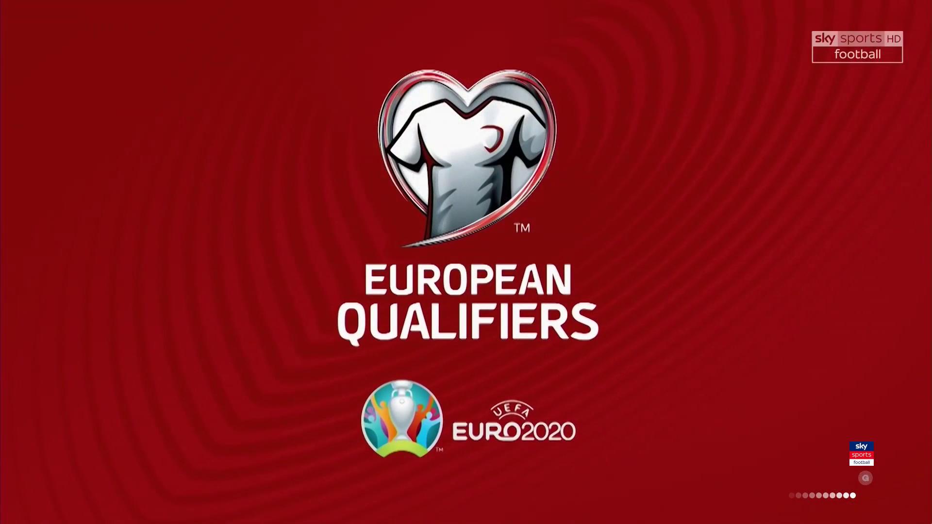 Чемпионат Европы 2020. Отборочный турнир. Обзор матчей за 12 октября