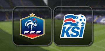 Франция - Исландия