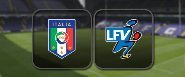 Италия - Лихтенштейн: Полный матч и Лучшие моменты