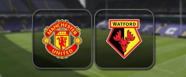 Манчестер Юнайтед – Уотфорд: Полный матч и Лучшие моменты