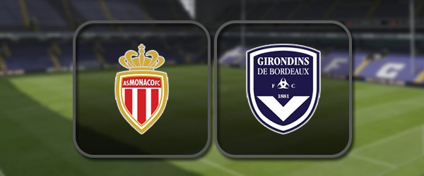 Монако - Бордо онлайн трансляция
