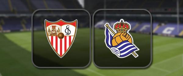 Севилья - Реал Сосьедад: Полный матч и Лучшие моменты