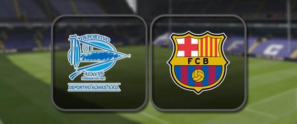 Алавес - Барселона онлайн трансляция