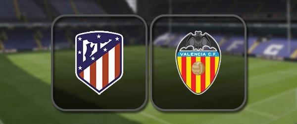 Атлетико - Валенсия онлайн трансляция