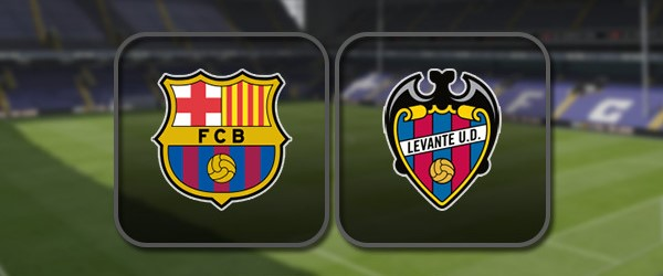 Барселона - Леванте онлайн трансляция