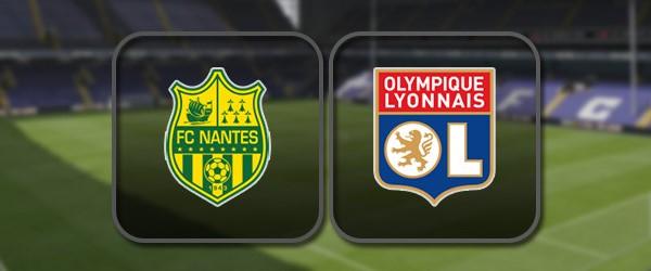 Нант – Лион: Полный матч и Лучшие моменты