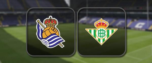 Реал Сосьедад - Бетис: Полный матч и Лучшие моменты