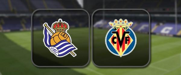 Реал Сосьедад - Вильярреал онлайн трансляция