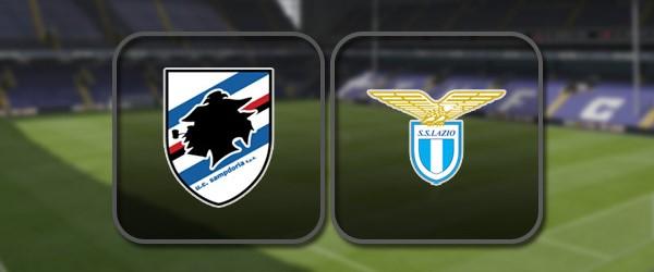 Сампдория - Лацио: Полный матч и Лучшие моменты