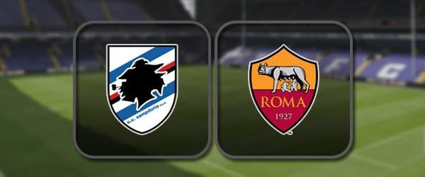 Сампдория - Рома: Полный матч и Лучшие моменты