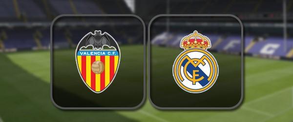Валенсия - Реал Мадрид онлайн трансляция